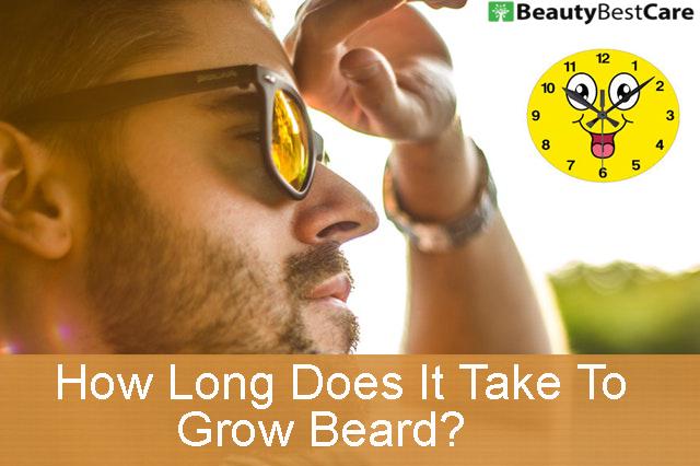 How Long Does It Take To Grow A Beard Beautybestcare