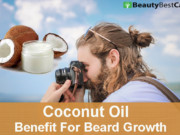 Coconut Oil For Beard Growth
