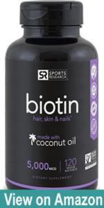 Biotin for beard growth