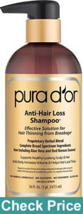 PURA D'OR hair growth product