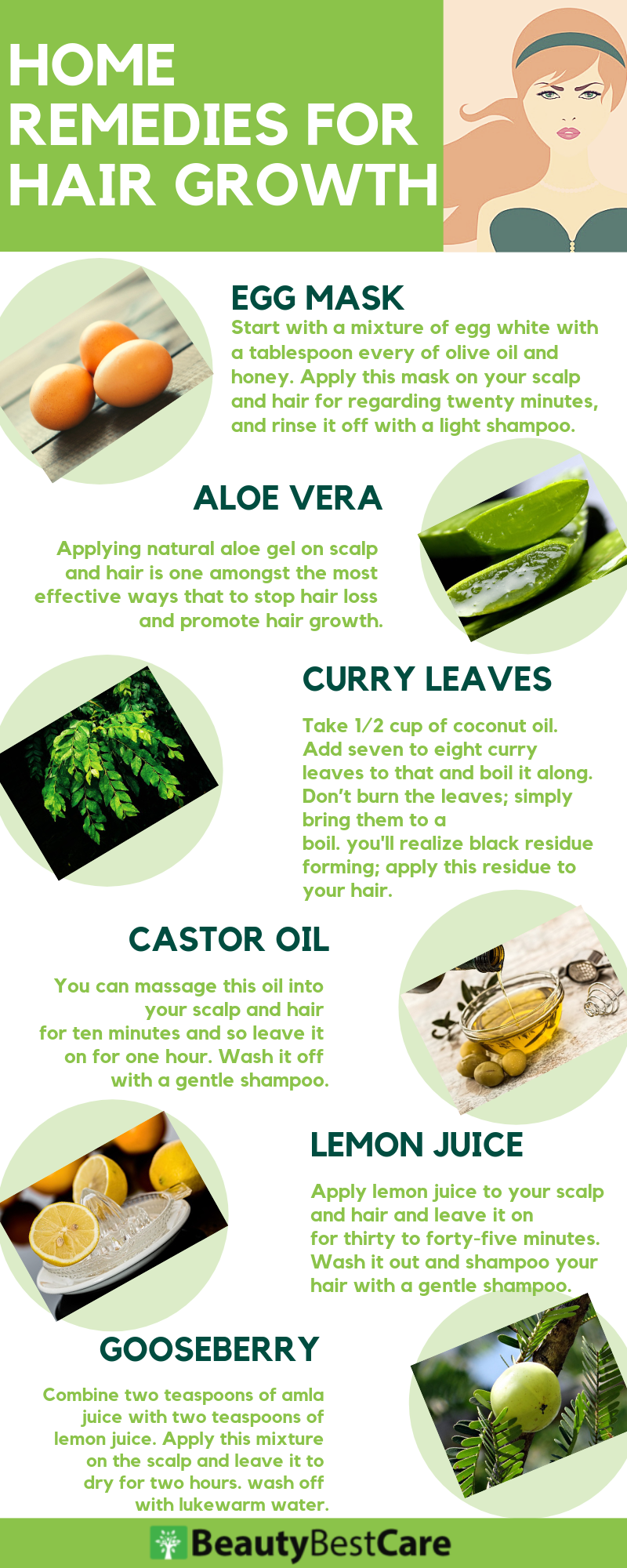 Natural Home Remedies For Hair Growth And Thickness That Works